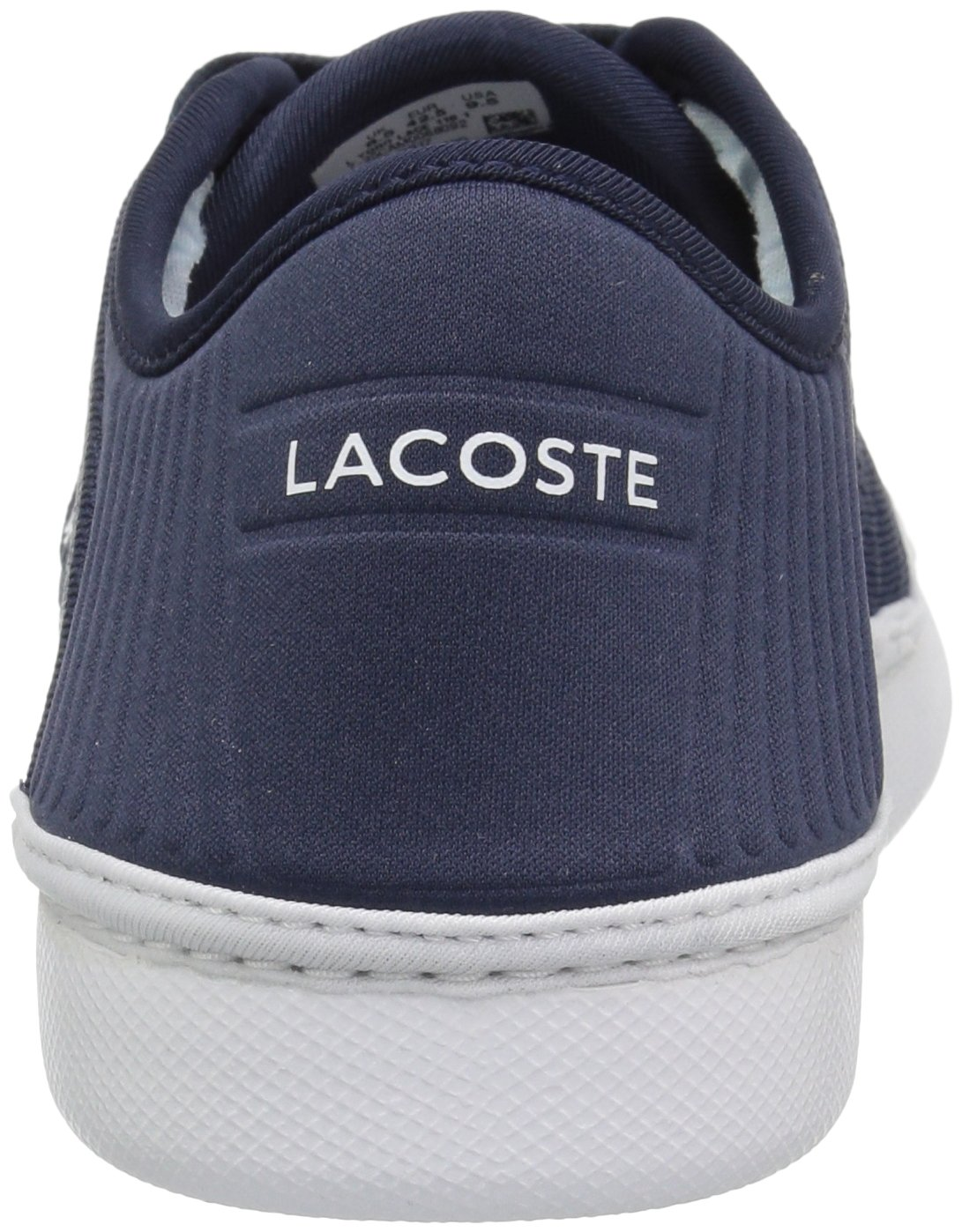 Lacoste Men's L.ydro Lace Sneakers,NVY/White Textile,10.5 M US by Lacoste (Image #2)