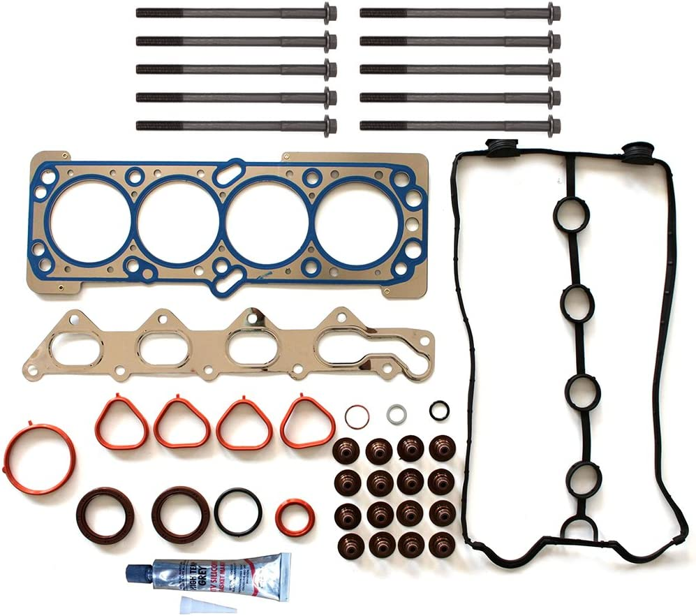 ECCPP Engine Replacement Head Gasket Set w//Bolts Kit for 2006 2007 2008 for Chevrolet Aveo Aveo5 1.6L Pontiac Wave