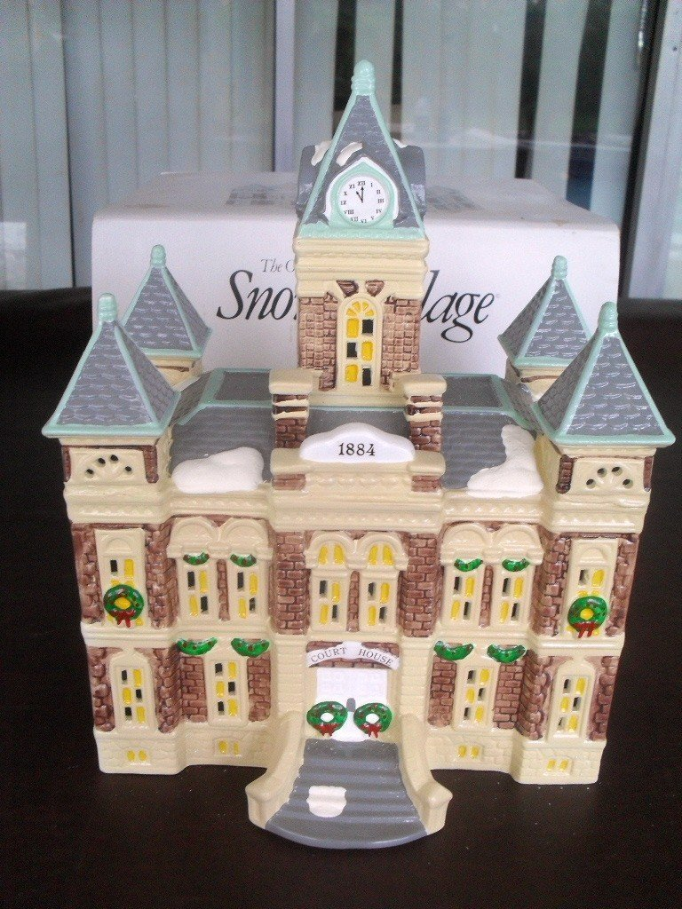 Dept 56 County Courthouse The Original Snow Village #5144-6 by Department 56