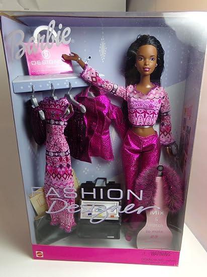 Amazon Com Barbie Fashion Designer African American Toys Games