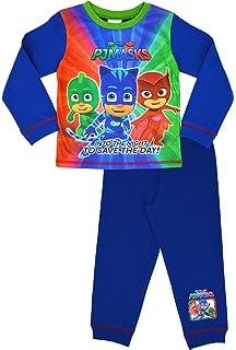 PJ Masks - Pijama Dos Piezas - Manga Larga - para niño