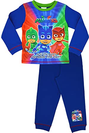 High Quality PJ Masks Pyjamas | Boys Girls Childrens Official PJ Set Nightwear | Ages 18  Months To