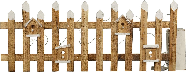 Cabilock 1 Pz 1 2 M Steccato Recinto Decorativo in Legno Albero di Natale Vaso di Piante Bonsai Fata Decorazione del Giardino