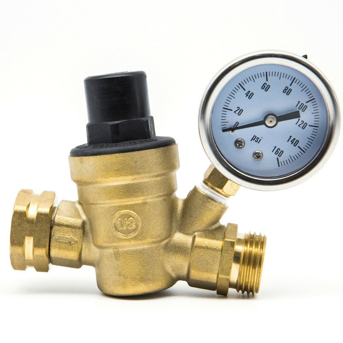 RV Water Pressure Regulator by TrustRV - Get A Perfect Shower in Your RV with This Adjustable Water Pressure Regulator - Well Made & Durable