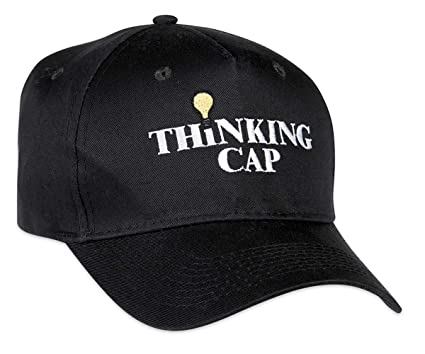 0dc5c412 Amazon.com: ComputerGear Funny Thinking Cap Hat Embroidered Light ...