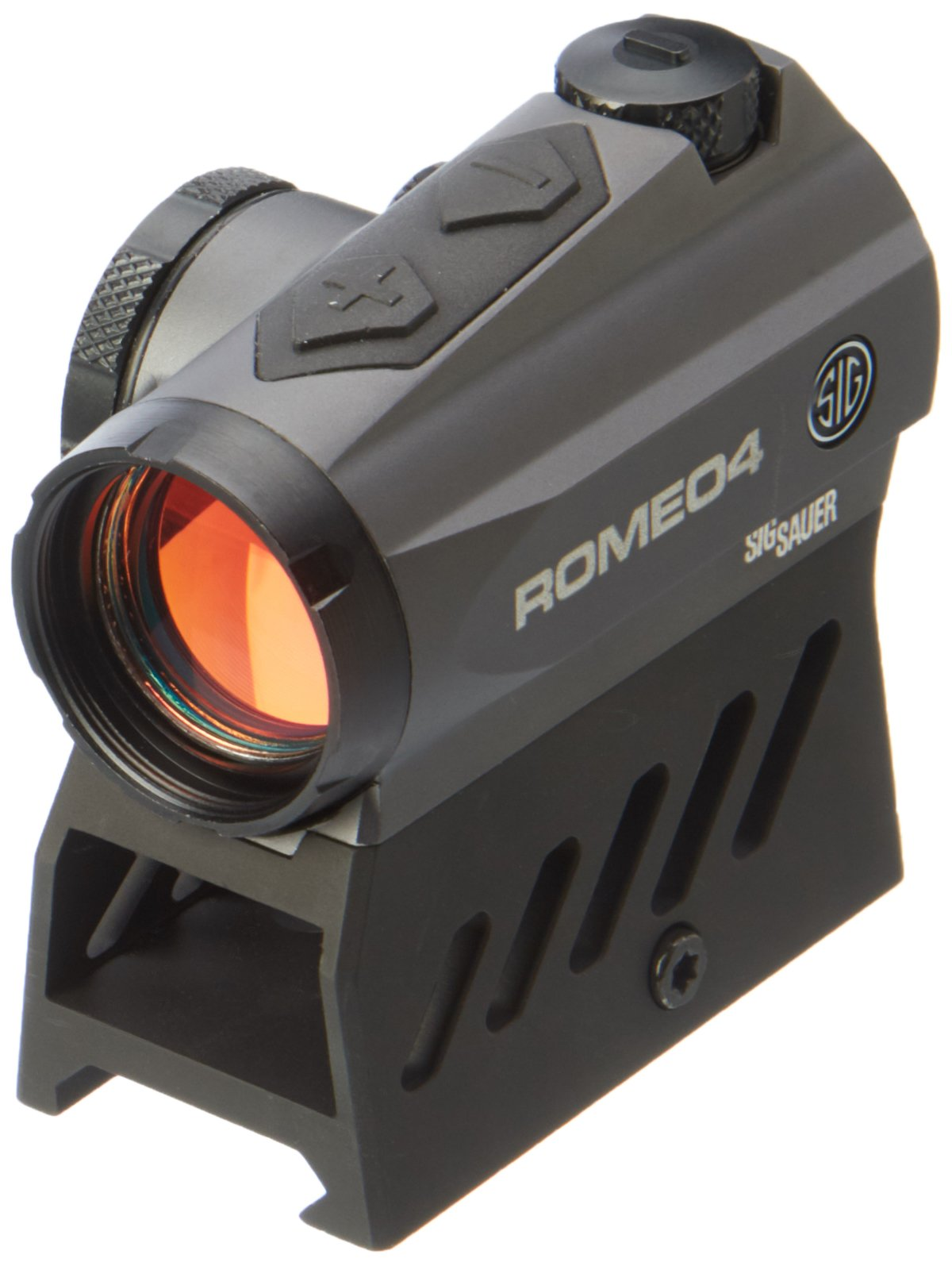 Sig Sauer ROMEO 4 Low Profile Red Dot 2 MOA Gun Scope (Romeo4A) by Sig Sauer