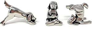 Basic Spirit Yoga Dogs - Dogs in Yoga Poses Pewter Figurines