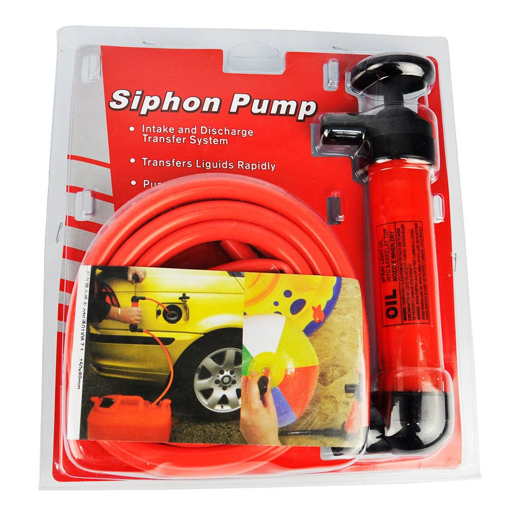 Vivo Siphon Water Oil Liquid Fuel Hand Pump Air Inflator Inflatable Petrol Diesel