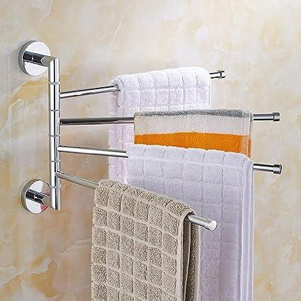 LUO Portasciugamani appendiabiti mobile Porta asciugamani da bagno ...