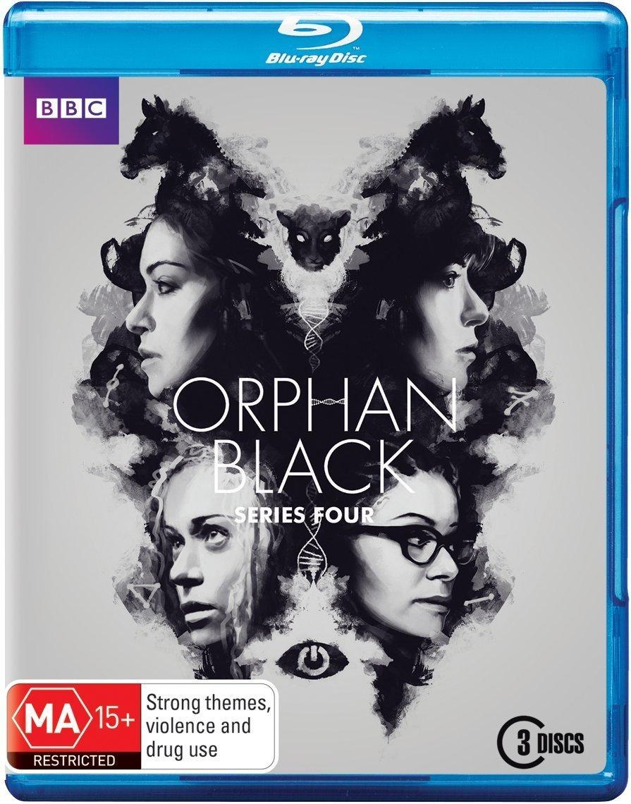 Orphan black t shirt uk - Orphan Black Season 4 Amazon Co Uk Tatiana Maslany Jordan Gavaris Maria Doyle Kennedy Kristian Bruun Dvd Blu Ray