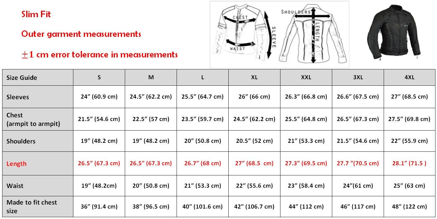 BorneAir Veste de Protection Moto /étanche avec des /évents M