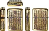 Zippo Heart Sutra(Hannya Shingyo) Brass Used Finish