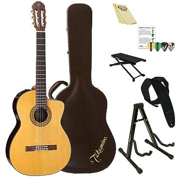 TAKAMINE tc132sc clásica acústica con cuerdas de nailon - Guitarra ...