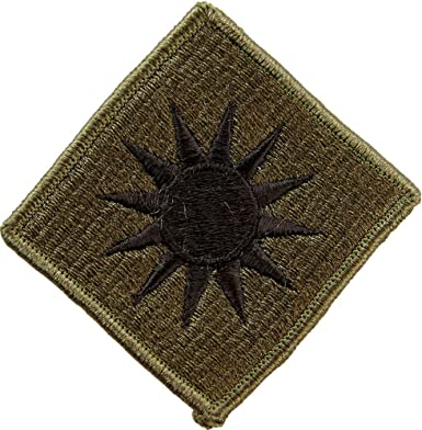 Embroidered Military Patch U S Army 1st Infantry Division NEW muted