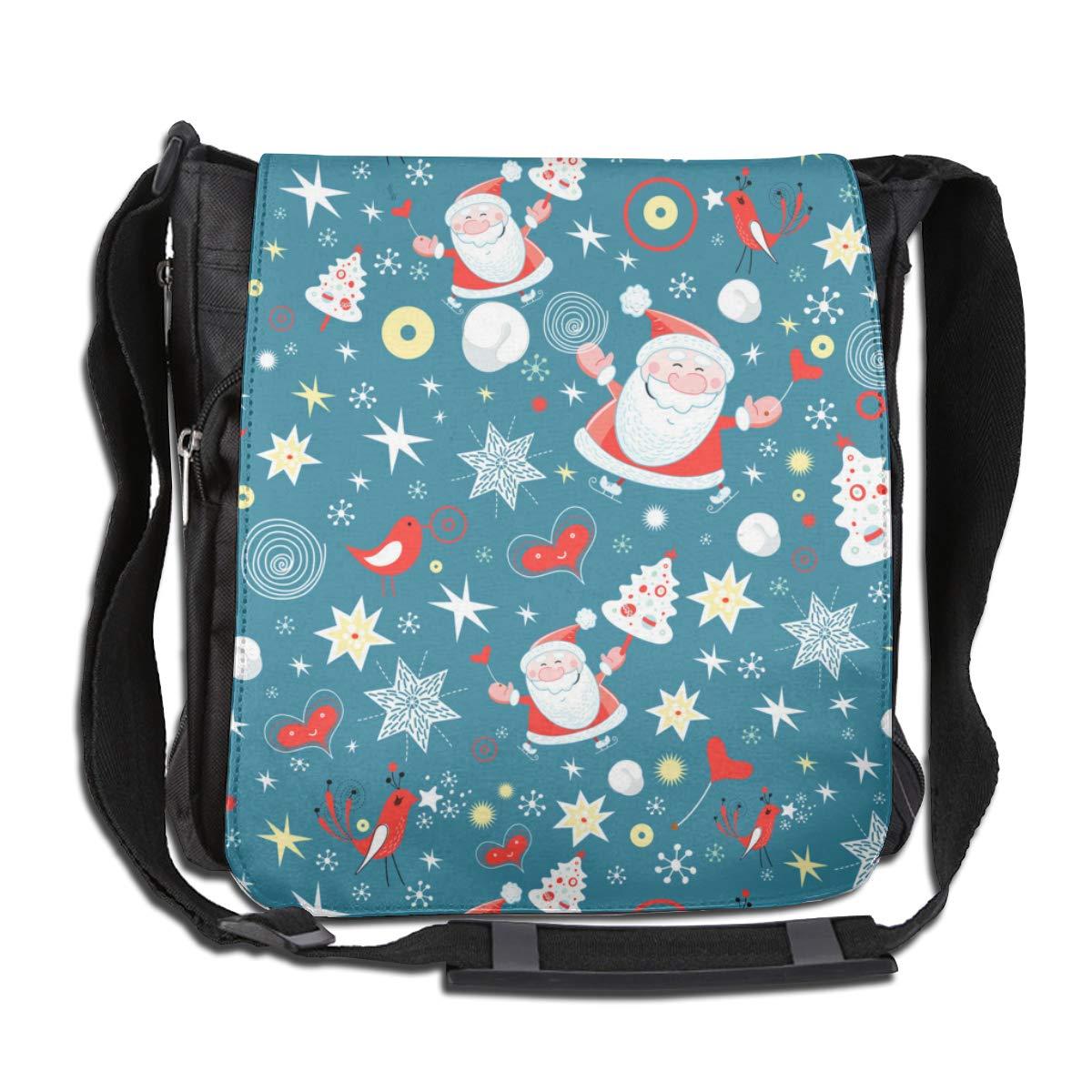 Christmas Fashion Diagonal Single Shoulder Workout Bag