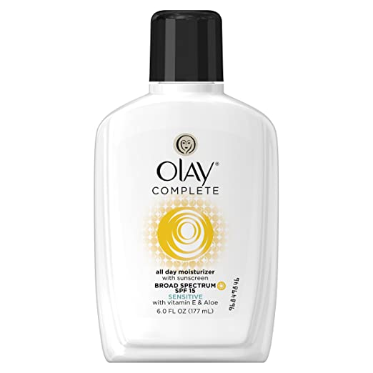 Olay Complete All Day Moisturizer with Broad Spectrum SPF 15 Sensitive