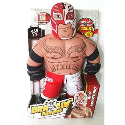WWE Brawlin\' Buddies Rey Mysterio Plush : Baby Toys : Baby