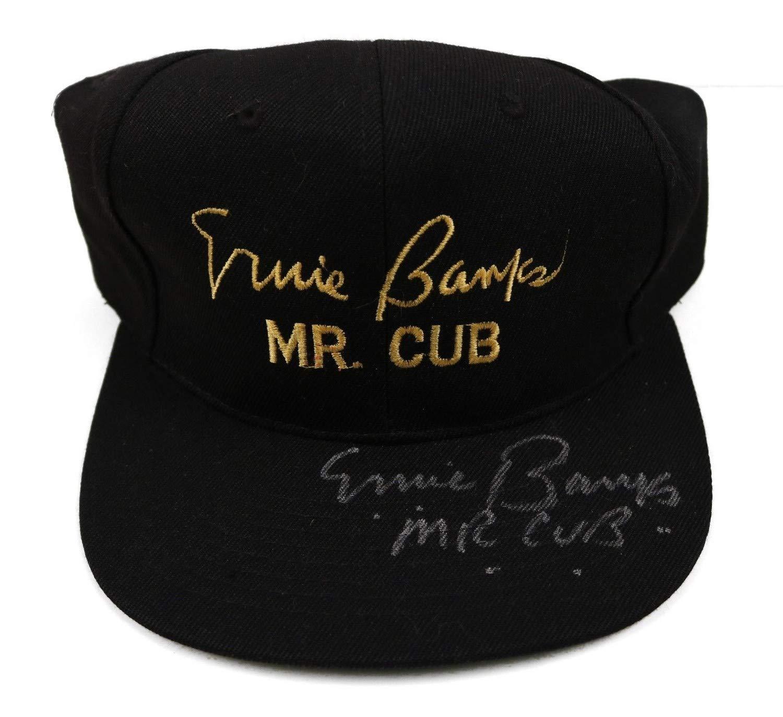 Ernie Banks D.2015 Mr. Cub Autographed Signed Mr. Cub Hat JSA Coa