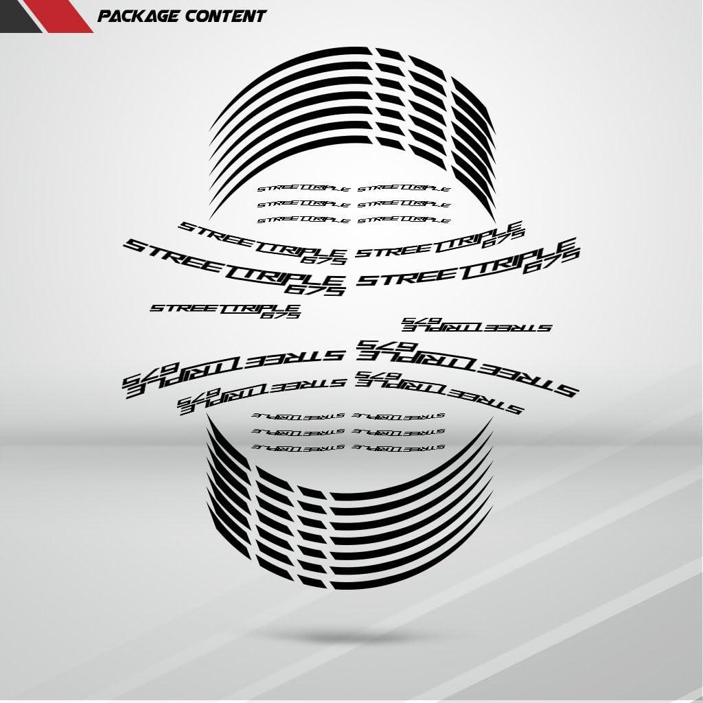 Matte Gold Motorcycle Rim Wheel Decal Accessory Sticker SDPKPWPTR013MD
