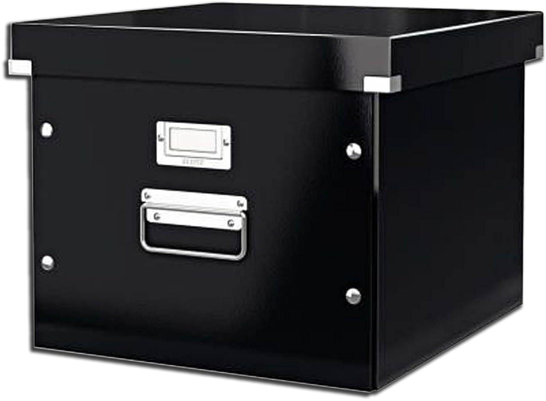 Leitz 60460095 Archiv-H/ängebox Click und Store schwarz Graukarton 2 Boxen + 20 H/ängetaschen grau