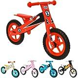 boppi® Wooden Balance Bike - Red Racer