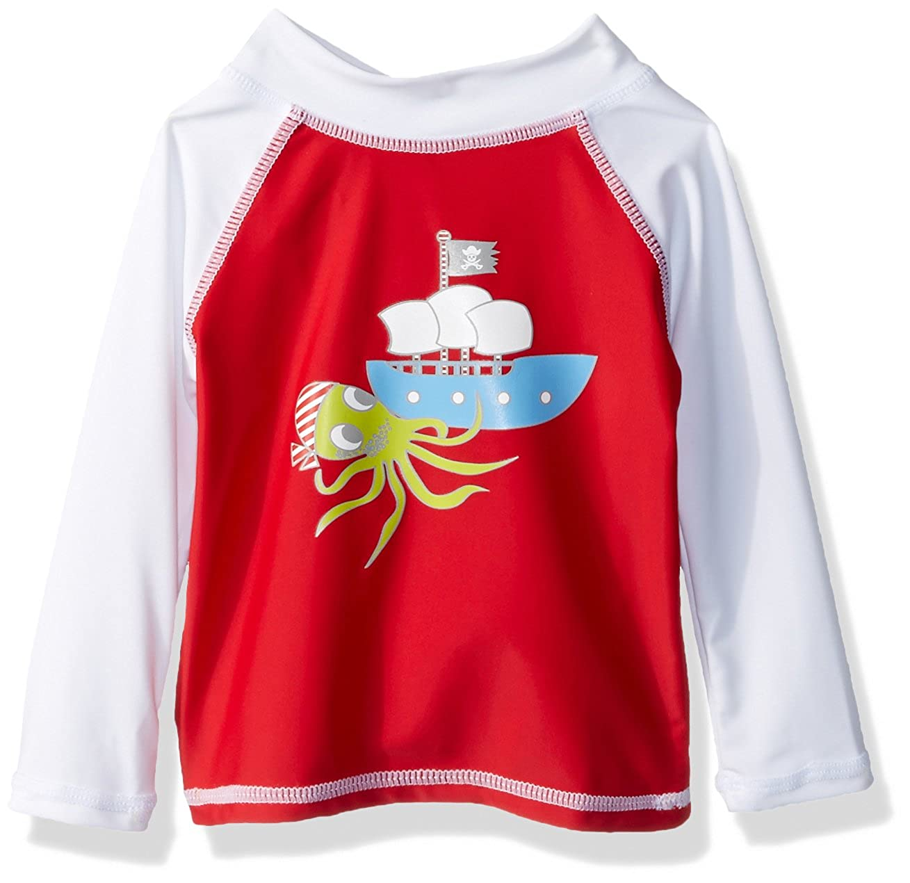 Flap Happy Baby Boys UPF 50+ Graphic Rash Guard/Swim Top RLP7AZ-DUP
