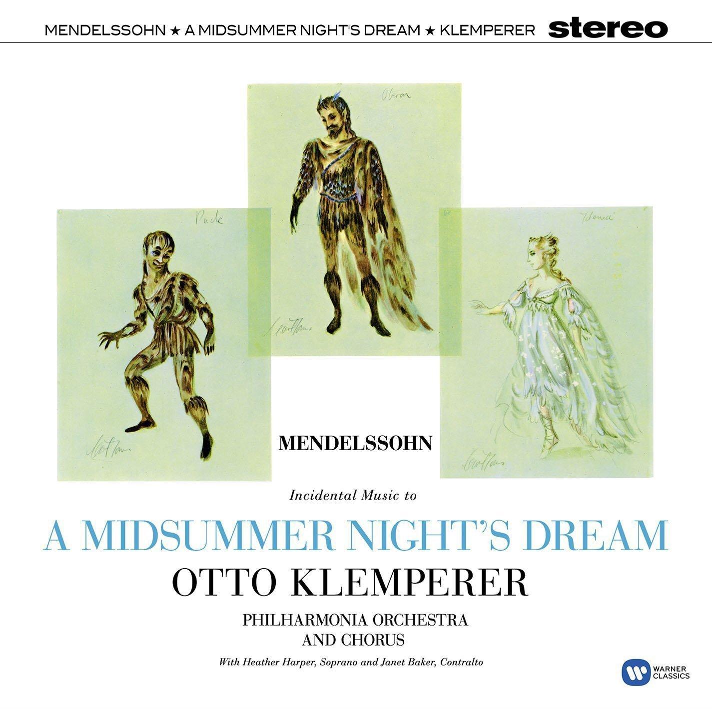 Vinilo : Otto Klemperer - Mendelssohn: A Midsummer Night's Dream (LP Vinyl)