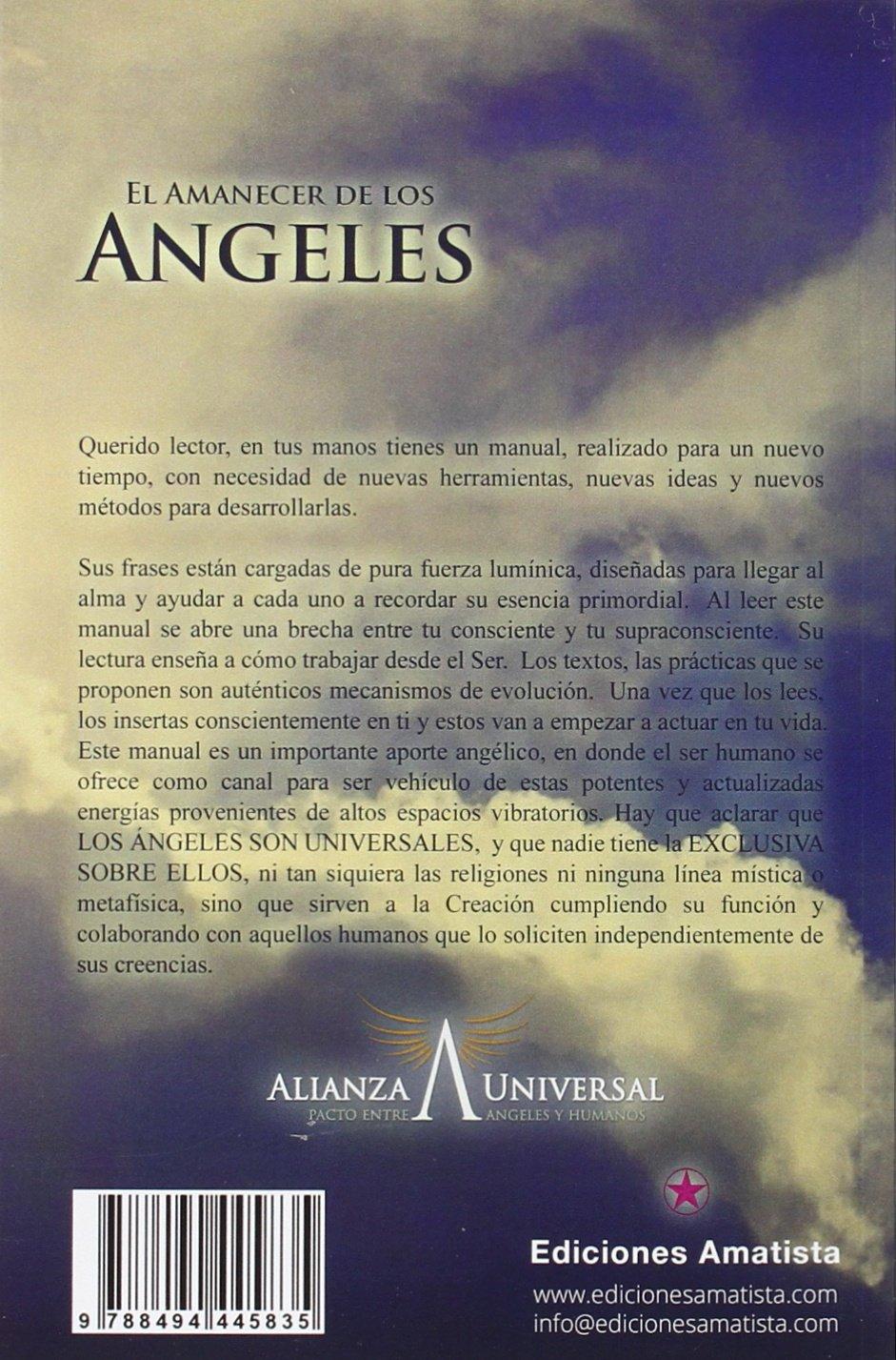 El amanecer de los angeles: RUBÉN ESCARTÍN PASCUAL: 9788494445835: Amazon.com: Books