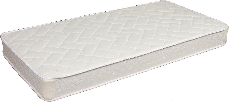 Home Life Comfort Sleep 8-Inch Two Sided Spring Mattress Green Foam Certified - Medium Firmness Twin2