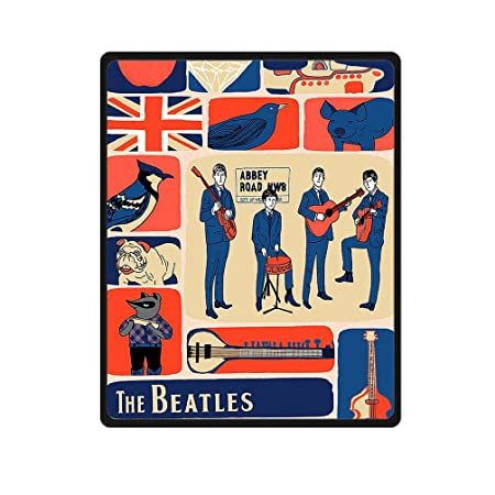 The Beatles Vintage Printed Blanket Throw Supersoft Washable Anti Inspiration Beatles Throw Blanket