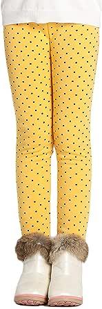 Adorel Leggings Térmicos Algodón Forros para Niñas