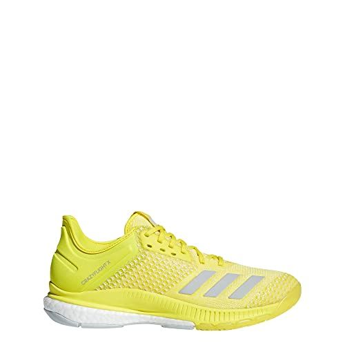 size 40 de3d7 4801f adidas Womens Crazyflight X 2 Volleyball Shoes, Yellow  (AmashoPlacenFtwbla 000