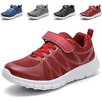 Hawkwell Kids Strap Running Shoes Boys Girls Breathable Lightweight Walking Sneakers(Little Kid/Bid Kid)