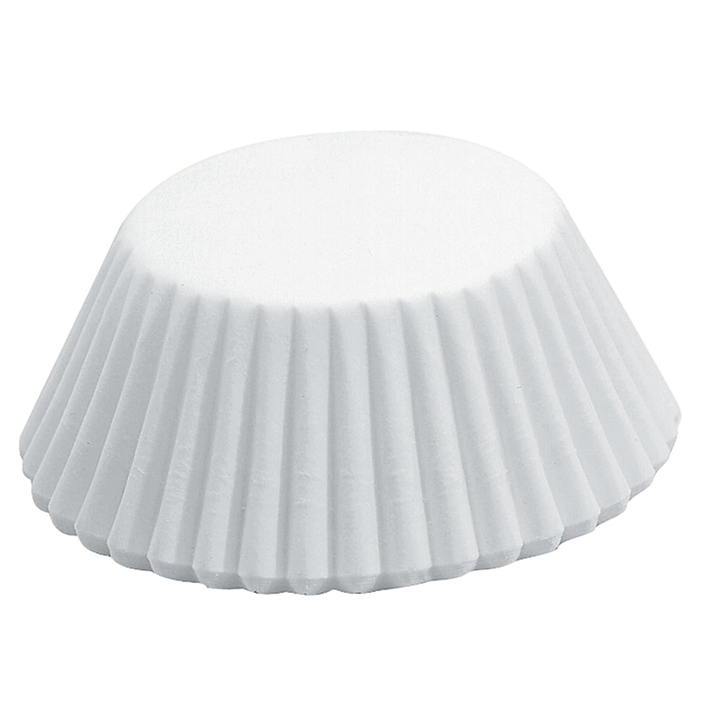 Fox Run 4910 White Bake Cups, Standard, 50 Cups