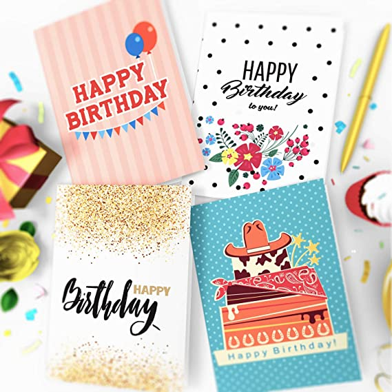 16 x Birthday Cards by Joy Masters™ Vol.2Multipack with ENVELOPESLarge