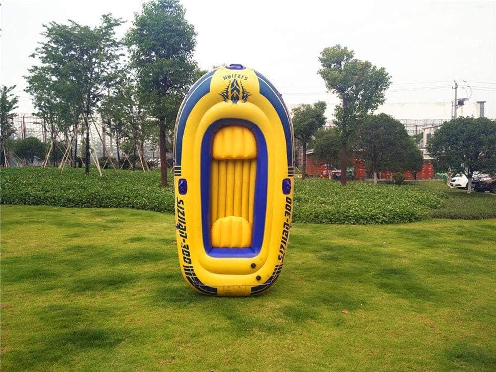 GJNVBDZSF Piscina, Bote Inflable Juego de Bote Inflable para 5 Personas Paleta de Aluminio y Bomba de Aire de Alto Rendimiento 100 * 58 Pulgadas Adecuado para niños Mayores de 3 años