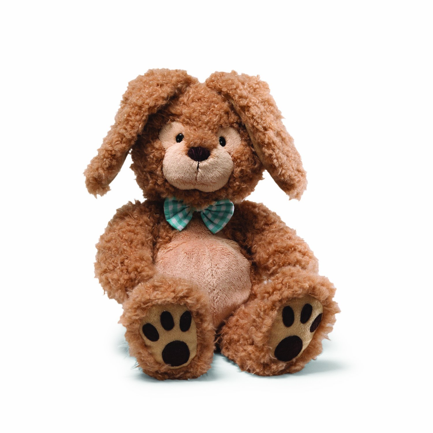amazon com gund easter dimples bunny 13 5 plush toys games
