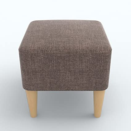 Amazon.com: ZEMIN Ottomans Footstool Sofa Stool Chair Seat ...