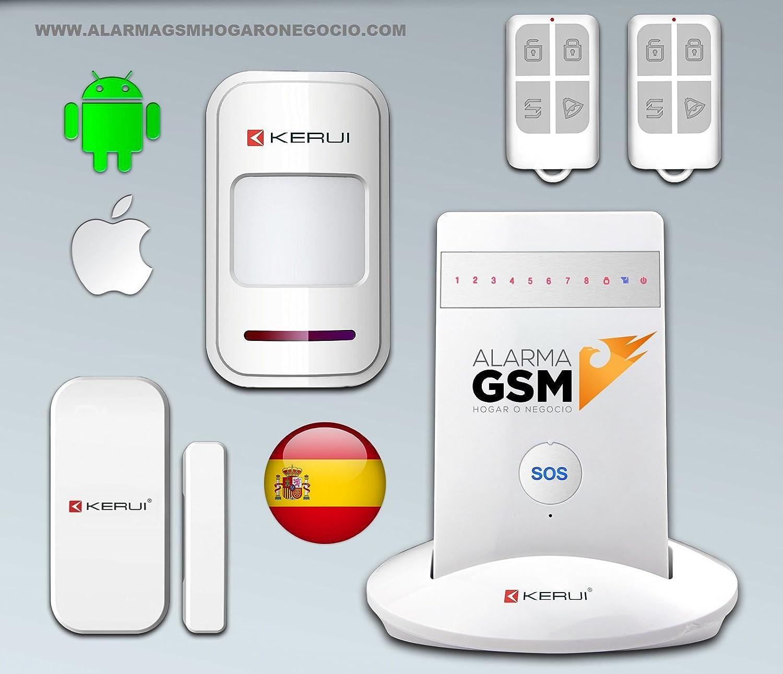 Kit Alarma KERUI GSM G15 para hogar casa o negocio sin ...