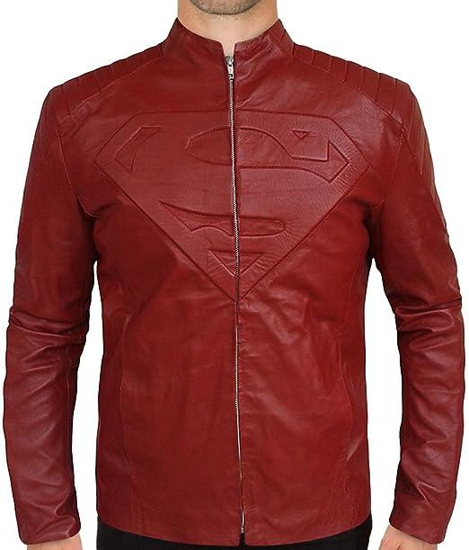 Amazon.com: Superhit estilo chamarra roja para hombres ...