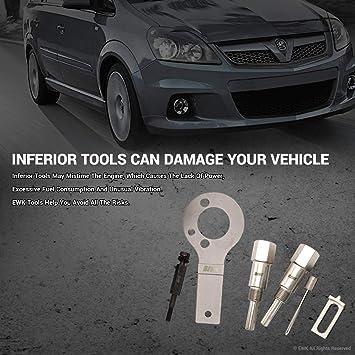 Vauxhall Opel 1.9 CDTI TDI Diesel de bloqueo correa dentada herramienta Kit Nuevo Reino Unido: Amazon.es: Coche y moto