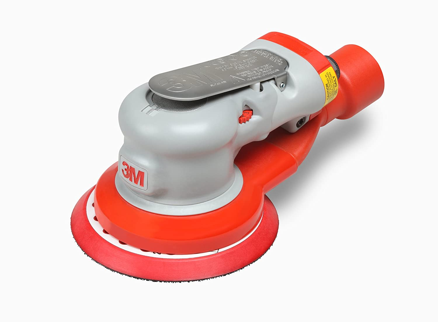 3M Random Orbital Sander – Elite Series 28506, Air-Powered, Central Vacuum, 5 Inch, 3 16 Orbit