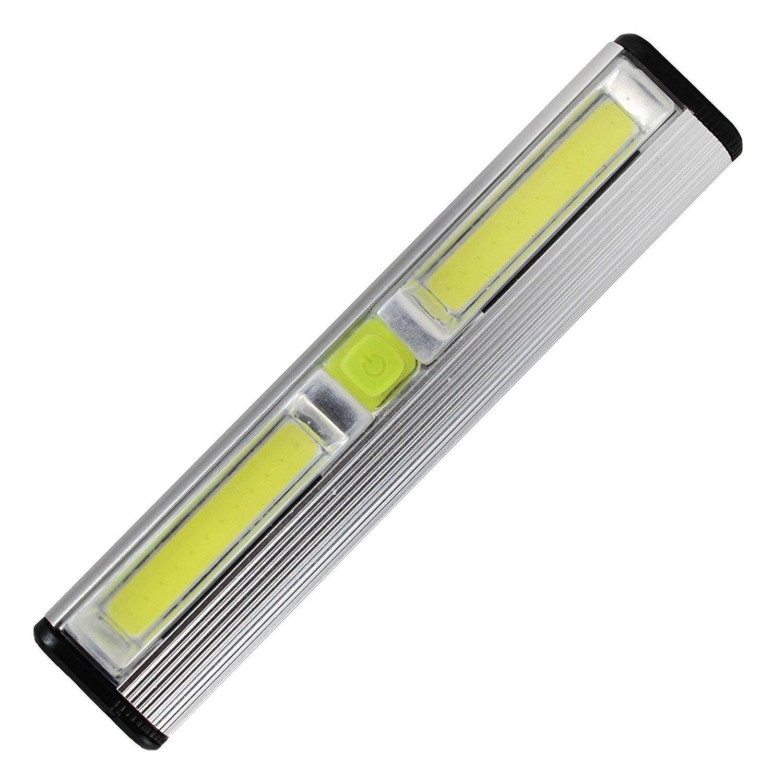 [更新版]バッテリー式LEDライト、バッテリー付き、キャビネット下、棚、クローゼット、ナイトスタンド&キッチン RV車&ボート(2パック) PSWITCH B01N5NNS0U 1 Pack Light Bar 1 Pack Light Bar