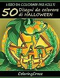 50 Disegni Da Colorare Di Halloween: Libro Da Colorare Per Adulti: Volume 1