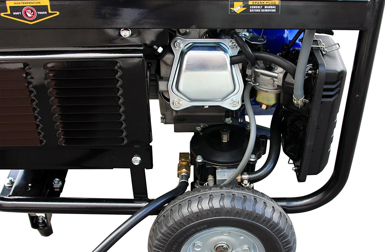DuroMax Hybrid Dual Fuel XP4400EH 4,400-Watt Portable Generator