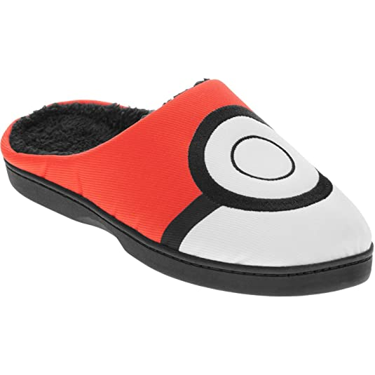 Pokemon Men's Pokeball Slipper (Medium 9/10)