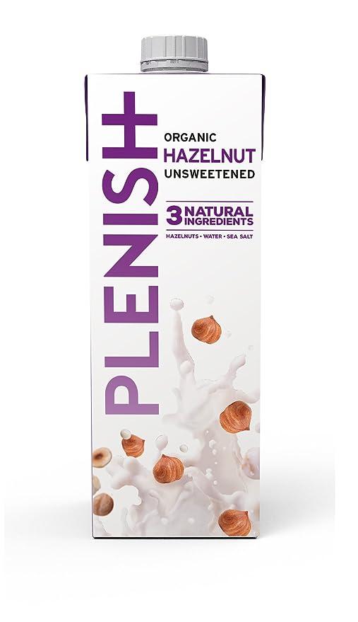3 opinioni per Plenish Latte di Nocciole Organico Senza Lattosio Senza Zucchero Aggiunto da 1L