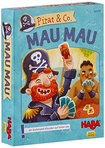 HABA 303294 - Pirata & Co., MAU Juego de Cartas: Amazon.es ...