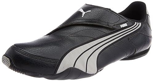 367fde3e8c76 Puma Men s Jiyu V Mesh White and Black Sneakers - 8 UK India (42 EU ...