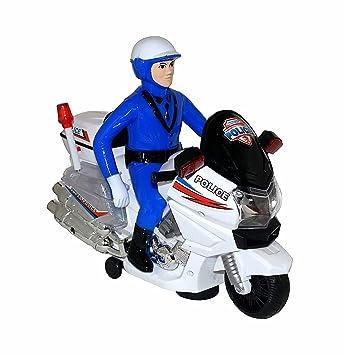 Juguete De Police Policía Para Motocicleta Moto Niños MpUGzSVq